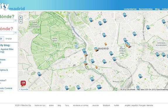 Encuentra la ruta más segura y llana para ir en bicicleta