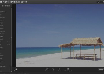 Editar fotos online con Photoshop Express