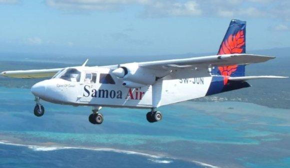 Samoa Air billetes peso asientos XL