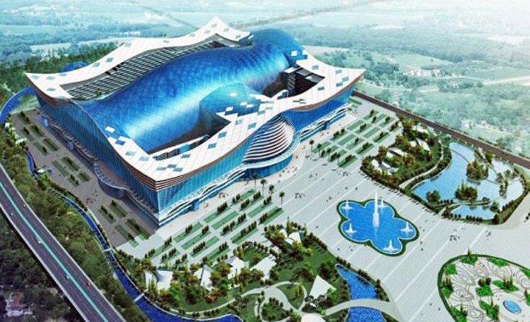 Abre China edificio más grande mundo