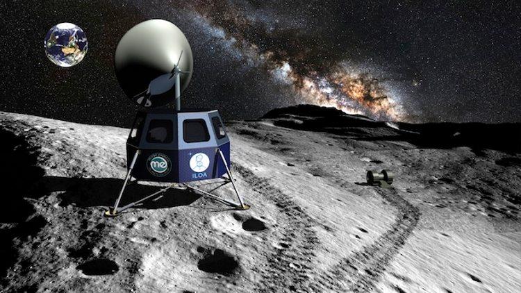 Plan privado para instalar dos telescopios en la Luna