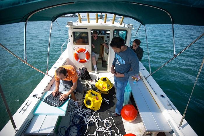 Primeras pruebas para llevar Internet debajo del agua