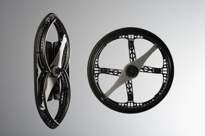Un rueda plegable que revolucionará las sillas de ruedas