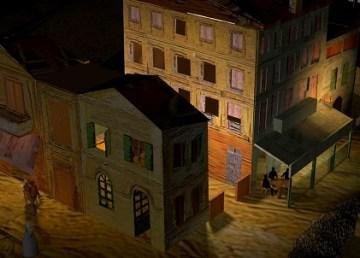 Luca Agnani da movimiento a las pinturas de Van Gogh 1