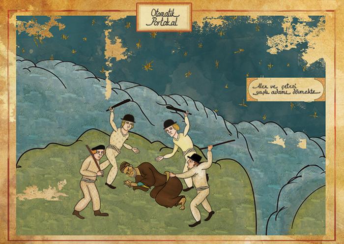 Murat Palta: arte otomano tradicional para representar películas famosas