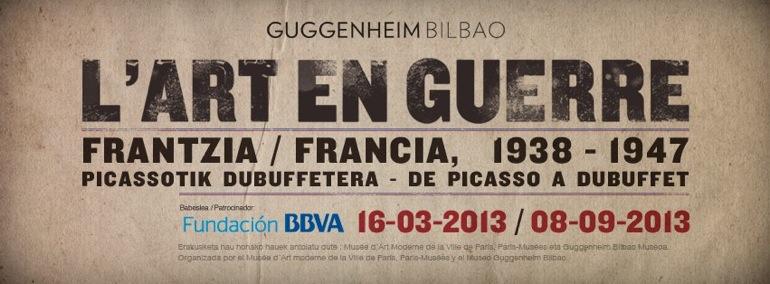 L'Art En Guerre, en el Museo Guggenheim Bilbao