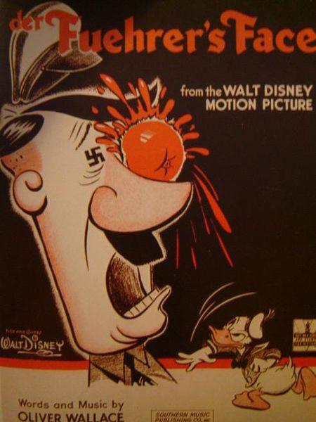 Cuando el Pato Donald fue nazi