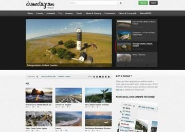 Dronestagram una red social fotográfica para drones 1
