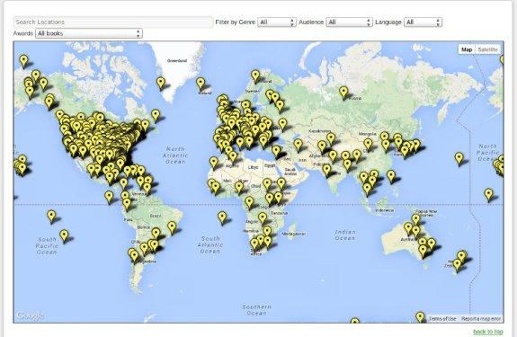 Los mayores mapamundis de Historia y Literatura en Internet (y II) 2
