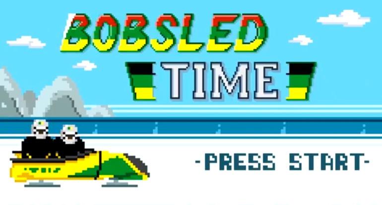 El video del equipo jamaicano de Bobsleigh