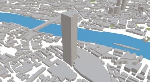 ViziCities permite visualizar multitud de datos sobre una ciudad modelada en 3D 3