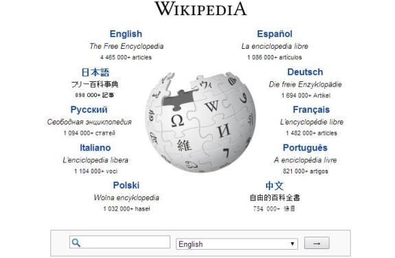 Descarga toda la Wikipedia en un archivo de 40GB