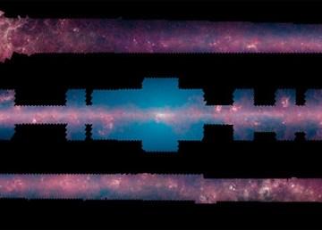 La NASA presenta el panorama más completo de la Vía Láctea