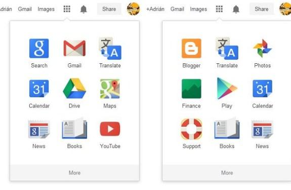 Google permite reordenar las aplicaciones en su menú de navegaciónn 1