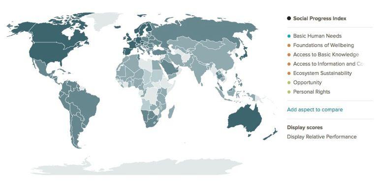 España por debajo de Panamá y Serbia en el índice de bienestar