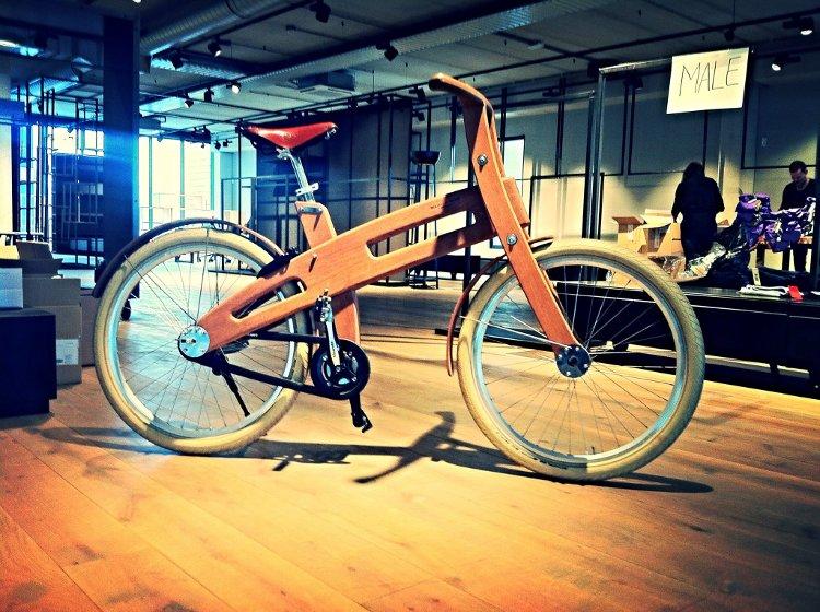 Bicicletas eléctricas de madera
