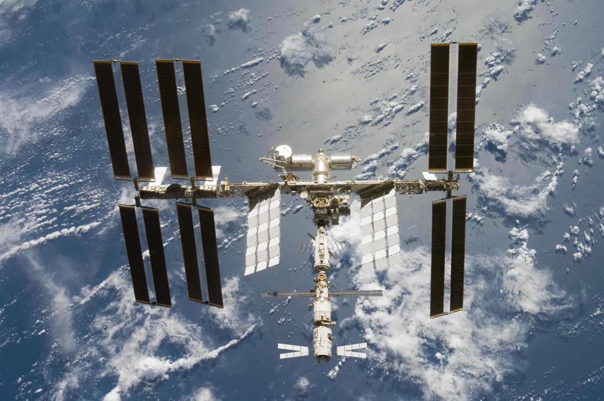 Una espectacular animación que muestra el ensamblaje de la ISS