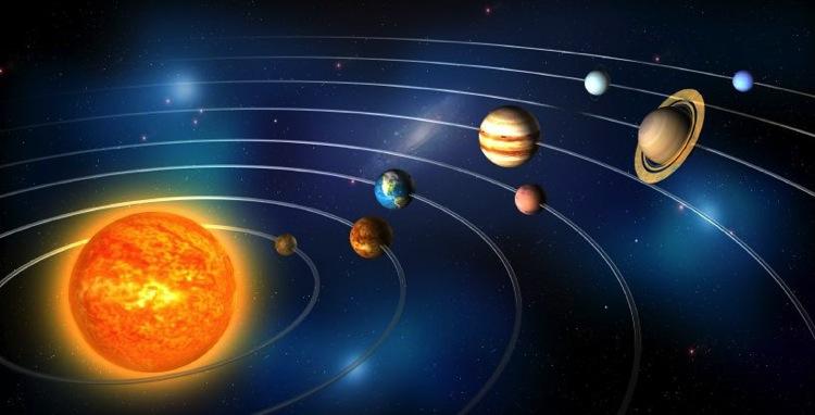 Por qué (casi) todos los planetas rotan y orbitan en la misma dirección