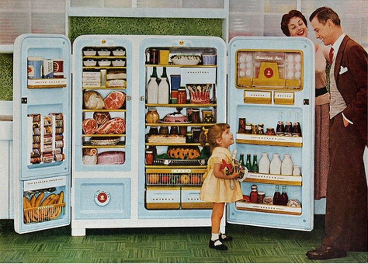 El frigorífico cumple cien años