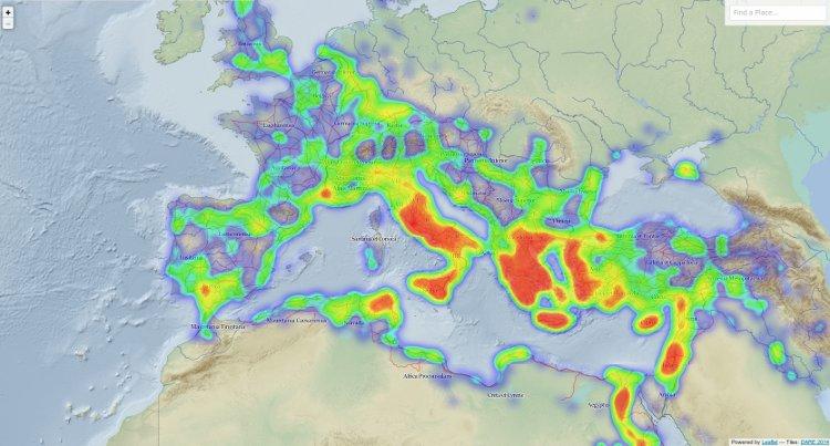 Pelagios, una herramienta para descubrir la geografía de la Antigüedad  y el Medievo