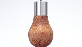 Inventan y comercializan una bombilla de madera 2