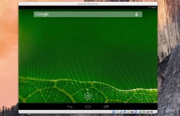 Como usar Android en un Mac 3
