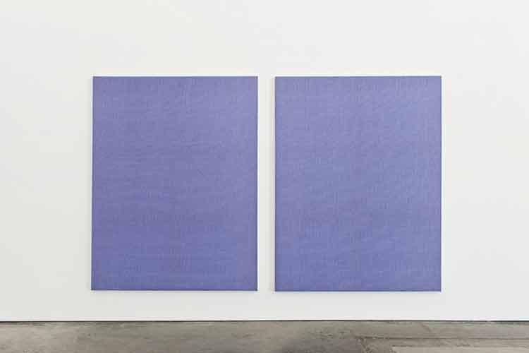 Ethan Cook, el pintor que no pinta