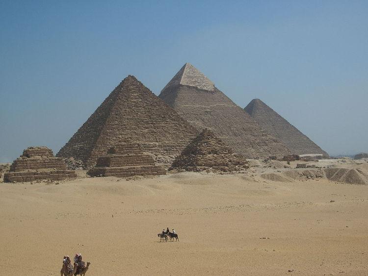Otra teoría sobre la construcción de las pirámides de Giza