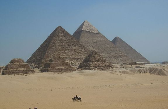 Otra teoría sobre la construcción de las pirámides de Giza 2