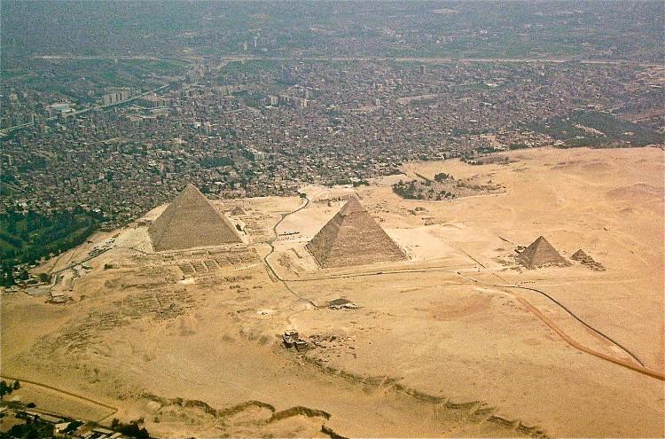 Otra teoria construccion piramides Giza