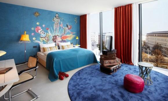 Rememorando mundo circo 25 Hours Hotel Viena