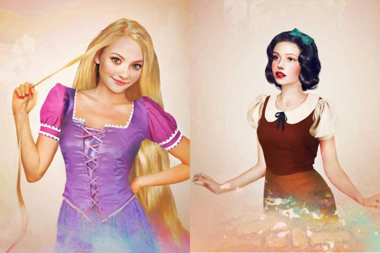 Una versión realista de los personajes femeninos de Disney