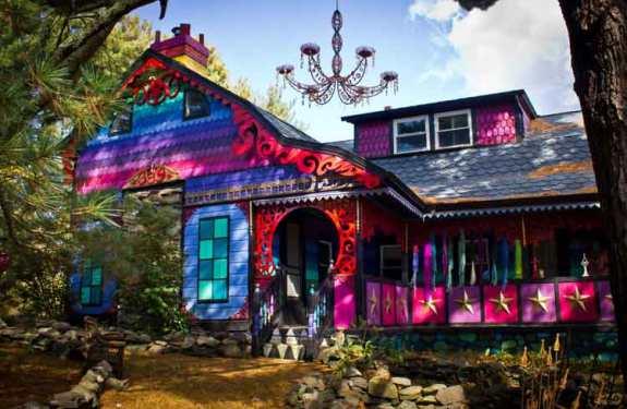 La casa psicodélica de Kat O'Sullivan 1