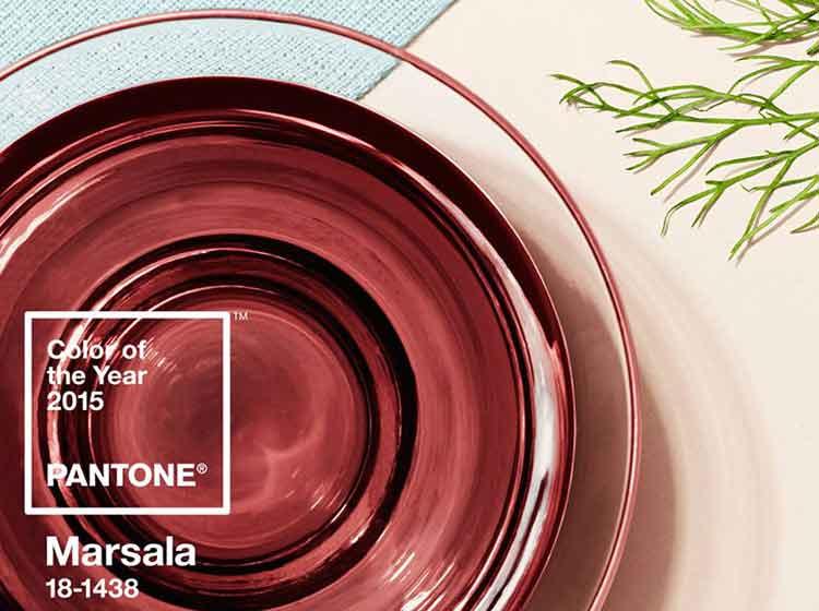 Marsala, el color de 2015 para Pantone