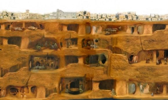 Descubren mayor ciudad subterranea Capadocia 2