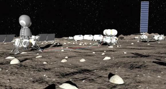 Empresa rusa proyecta construir base Luna 2