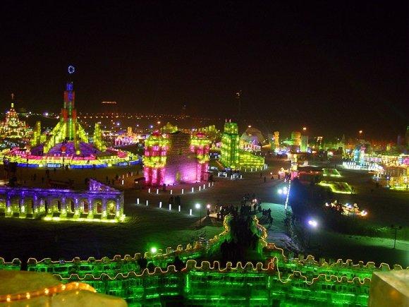 Harbin festival hielo nieve