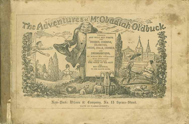 The Adventures of Mr. Obadiah Oldbuck, la primera novela gráfica