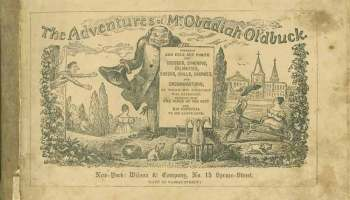 The Adventures of Mr. Obadiah Oldbuck, la primera novela gráfica