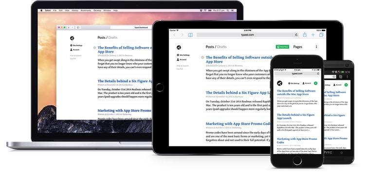 Typed, la nueva plataforma de blogging que busca financiación por crowdfunding