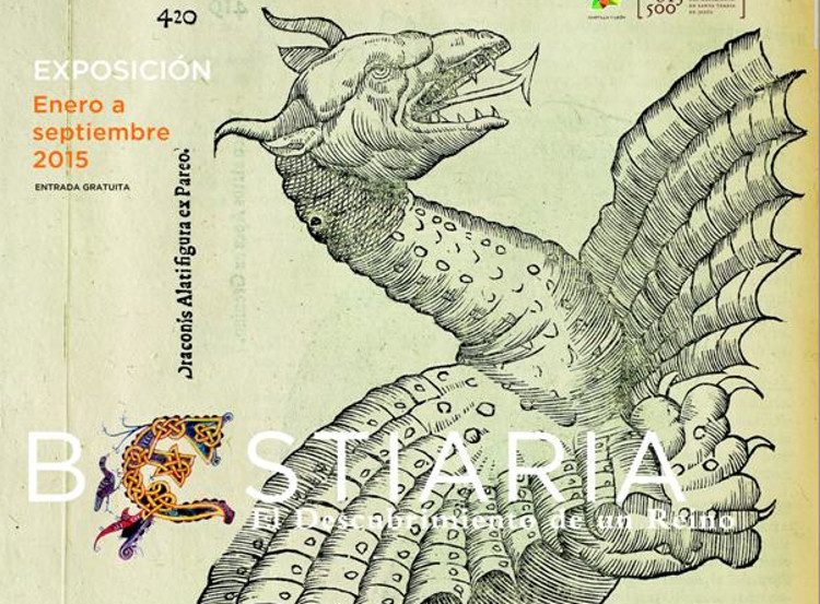 Bestiaria fauna mitologica medieval reunida exposicion