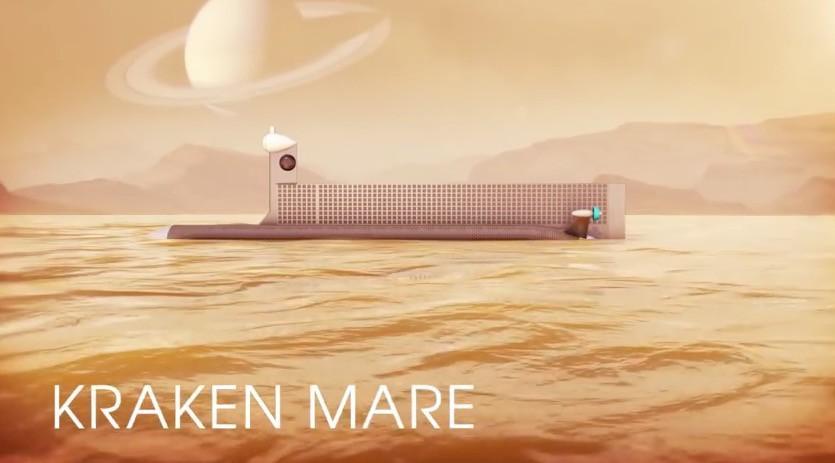 Así es el submarino que la NASA podría usar en Titán 1