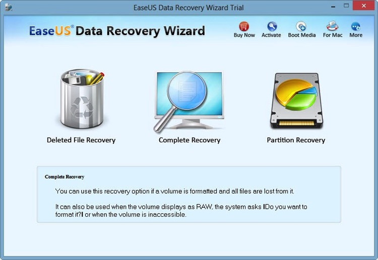 Recupera archivos borrados en tu PC o Mac con EaseUS Data Recovery Wizard