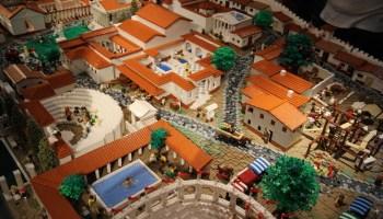 Pompeya: la mayor recreación de una ciudad antigua con bloques de LEGO 2