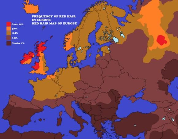 Atractivo sexual mundial mapas 3