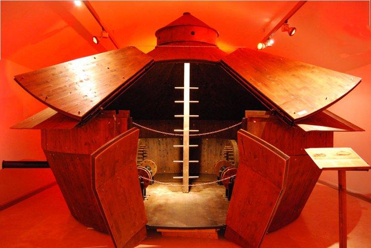 Exposición en Roma sobre las máquinas de Leonardo da Vinci