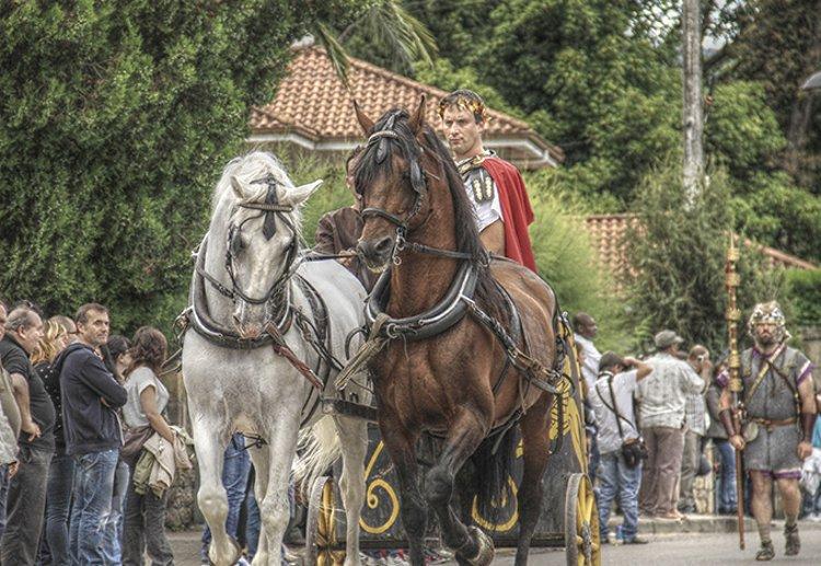 Las Guerras Cántabras vuelven a Los Corrales de Buelna
