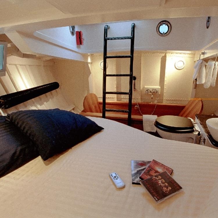 Hoteles insolitos Harlingen lancha salvavidas 3
