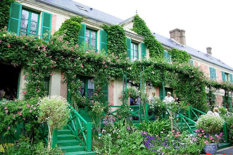 La casa y los jardines de Monet en Giverny
