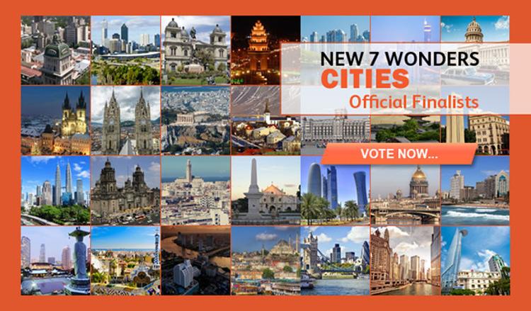 Las 14 finalistas para las 7 Ciudades Maravillosas del Mundo